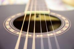Строки гитары Стоковая Фотография RF