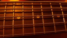 Строки гитары Стоковое Фото