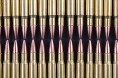 2 строки касаться кругов винтовки Стоковые Изображения RF