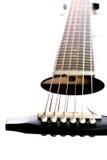 Строки на гитаре. Стоковое Фото
