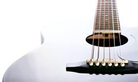 Строки на гитаре. Стоковое Изображение