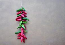 Строки перца, chilies Стоковое Изображение
