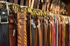 Строки пояса для продажи Стоковые Фотографии RF