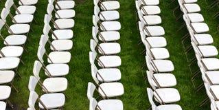 Строки стульев закона Стоковая Фотография RF