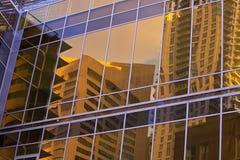 строя близкий офис вверх по взгляду Стоковое Изображение