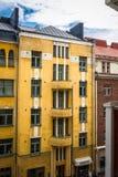 строя желтый цвет Стоковая Фотография