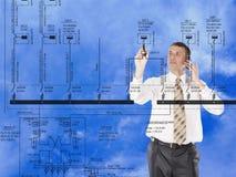 строя инженерня проектирование Стоковая Фотография RF