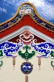 строя китайская крыша традиционная Стоковое Изображение