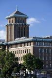 строя классицистический офис kanagawa ken правительства Стоковое Фото