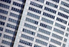 строя корпоративный фасад Стоковое фото RF