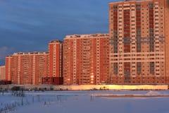 строя красная зима Стоковые Фото