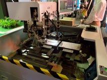 Строя машина приведенная Ecolighttech Азия 2014 стоковое изображение