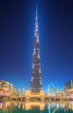 2 84 723 829 строя мир khalifa m самый высокорослый UAE Дубай ft burj в настоящее время Стоковая Фотография