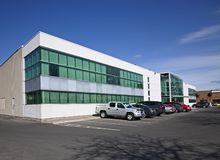 строя низкий самомоднейший подъем офиса Стоковая Фотография RF