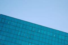 строя окна корпоративного офиса Стоковое Фото