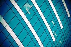 строя окна корпоративного офиса Стоковое фото RF