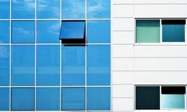 строя открытое окно стены Стоковое Изображение RF