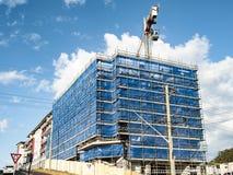 Строя прогресс 136 На St Gosford 47 Beane Сентябрь 2018 стоковое фото rf