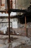 строя руина остаток ожога вне вероисповедная Стоковые Фотографии RF