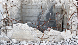 строя руины стоковая фотография