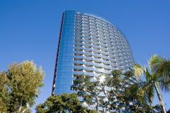 строя самомоднейший небоскреб Стоковая Фотография RF
