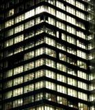 строя самомоднейший офис ночи Стоковые Фото