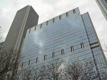 строя самомоднейший офис Стоковое фото RF