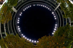 строя самомоднейшая ноча Стоковое Изображение RF