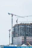 строя самомоднейшее урбанское селитебное зоны новое современный жилой квартал города Стоковое Фото
