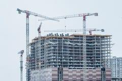 строя самомоднейшее урбанское современный жилой квартал города Стоковые Фото