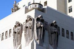 строя самомоднейшие скульптуры Стоковая Фотография RF