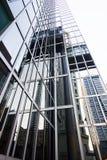 строя самомоднейший офис стоковое изображение rf
