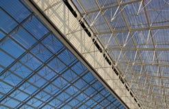 строя современное стекло Стоковая Фотография RF