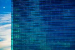 строя современный экстерьер Стоковая Фотография RF