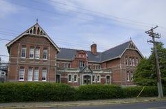 строя старая школа Стоковые Фотографии RF