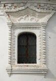 строя старое окно стоковое изображение rf