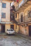 строя старый городок Стоковое фото RF