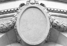 строя старый камень знака Стоковая Фотография