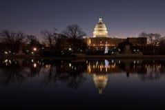 строя столица заявляет соединенный восход солнца Стоковые Изображения