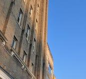 строя центр города Стоковые Изображения RF