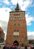 Строя янтарный музей в Гданьске стоковые изображения rf