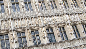 строя декоративный фасад Стоковое фото RF