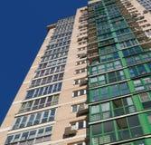строя multi этаж зодчество самомоднейшее Стоковое Фото