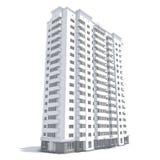 строя multi этаж Стоковые Фотографии RF