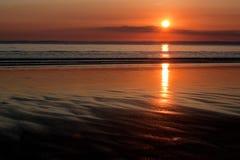 струит заход солнца Стоковое фото RF