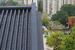 Структура архитектуры Histroic на Гонконге стоковое фото