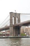 Структура Бруклинского моста главным образом, Нью-Йорк Стоковые Изображения
