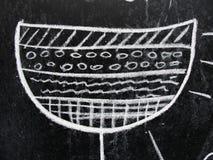 Структура десерта иллюстрация вектора