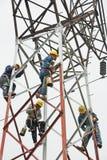 Структура китайского работника крася стальная Стоковые Фотографии RF