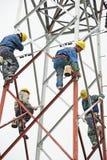 Структура китайского работника крася стальная Стоковое Изображение